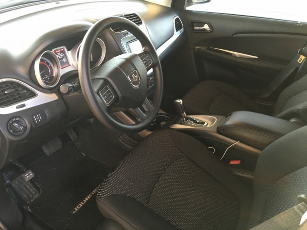 2016 Dodge Journey SXT interior, Image: © 2016 Bark M./The Truth About Cars
