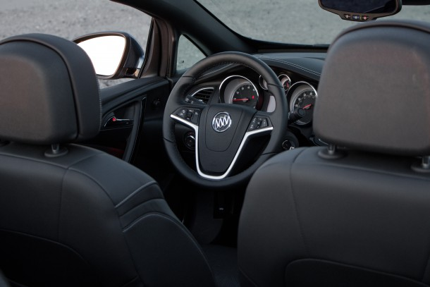 2016 Buick Cascada Interior, Image: © 2016 Jeff Jablansky/The Truth About Cars