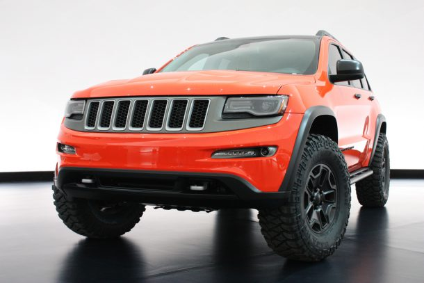 2013 Jeep Trailhawk II Front