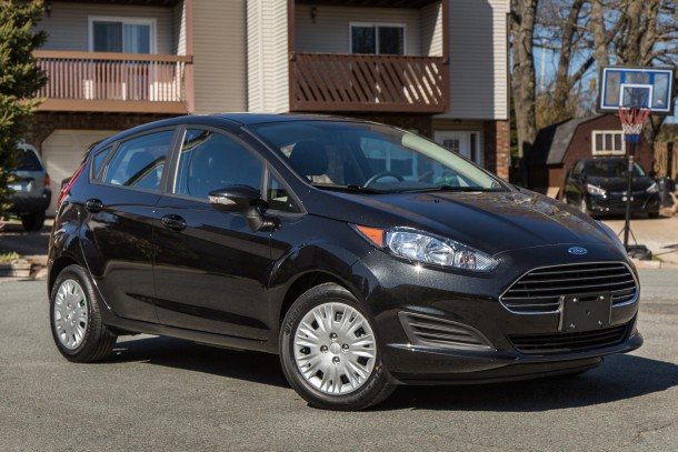 2015 Ford Fiesta SFE Front 3/4, Image: © 2016 Mark Stevenson/The Truth About Cars