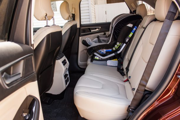 2016 Ford Edge Back Seats, Image: © 2016 Kevin Mio/The Truth About Cars