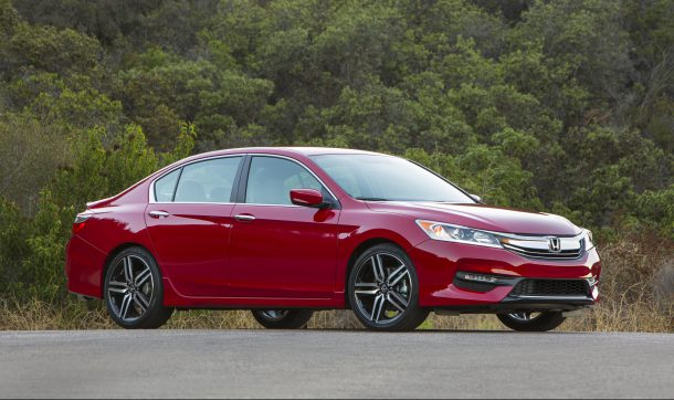 2016 Honda Accord sedan red
