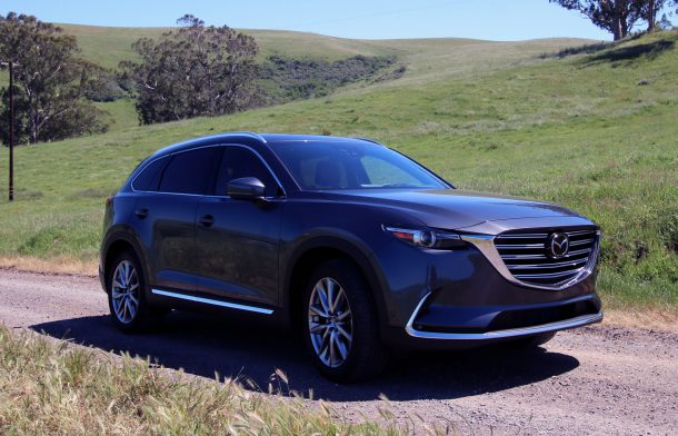 2016 mazda cx 9 first drive review three rows of zoom zoom the truth about cars. Black Bedroom Furniture Sets. Home Design Ideas