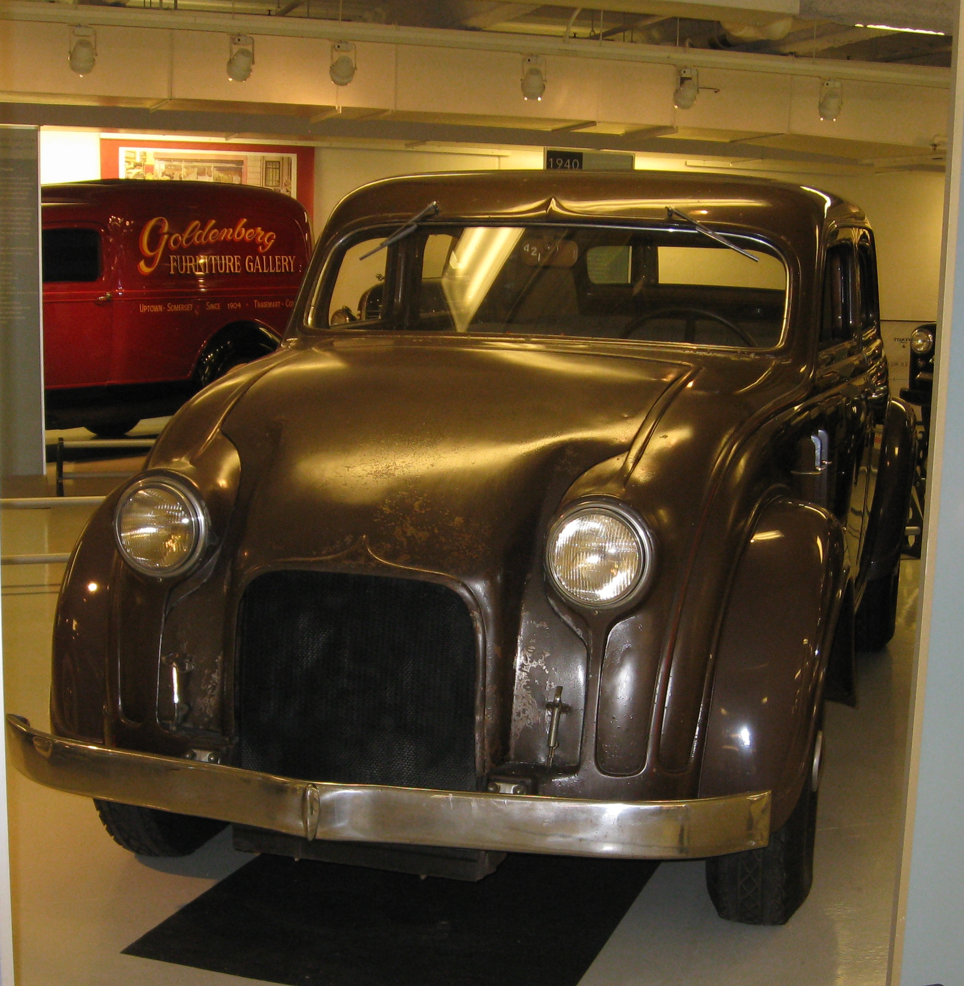 Chrysler Airflow Prototype Walter P Museum Source Ronnie Schreiber The Truth About