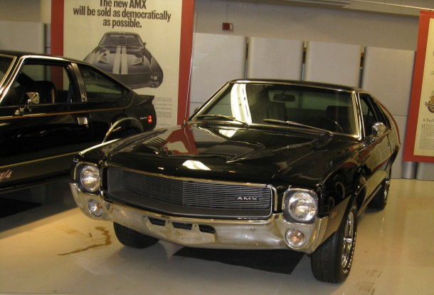 American Motors AMX  Walter P Chrysler Museum, Source: Ronnie Schreiber/The Truth About Cars