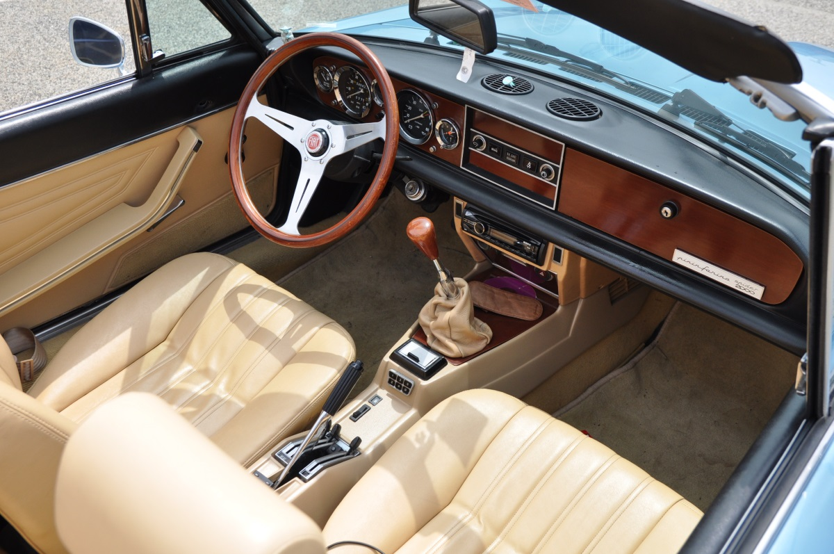 1981 fiat 2000 spider the one not made in japan the truth about cars. Black Bedroom Furniture Sets. Home Design Ideas