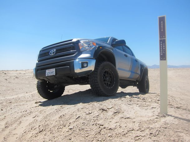 Toyota Tundra Pro Runner Ocotillo Wells 9, Image: © 2016 Seth Parks/The Truth About Cars