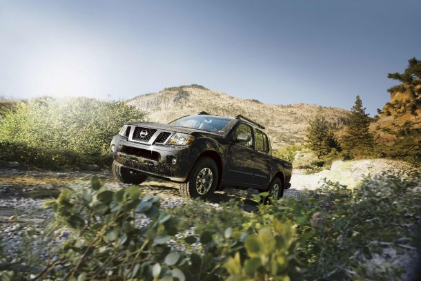 2016 Nissan Frontier, Image: Nissan