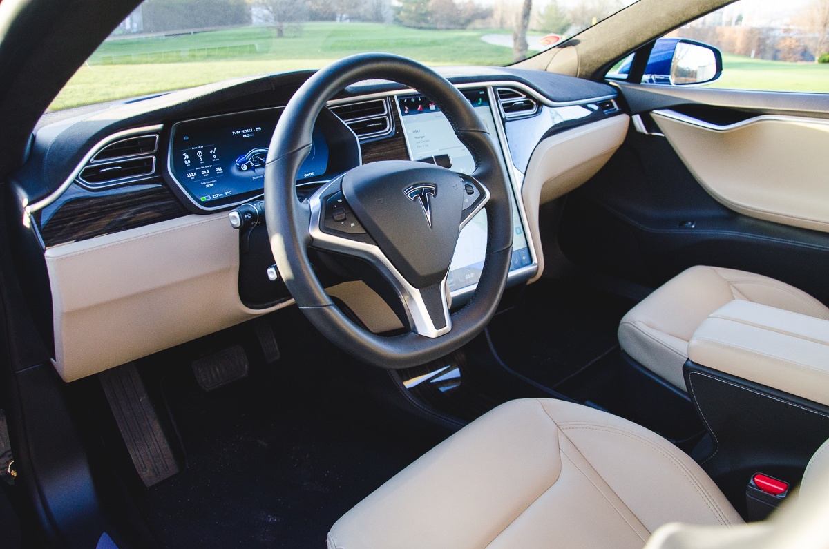 Tesla Model S 85d Interior Image 2016 David Marek The Truth About