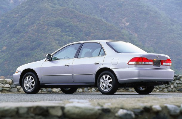 2002 Honda Accord, 6th Generation, Image: American Honda