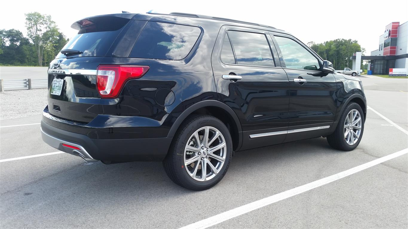 2017 Ford Explorer Limited Image 2016 Jack Baruth The Truth About Cars