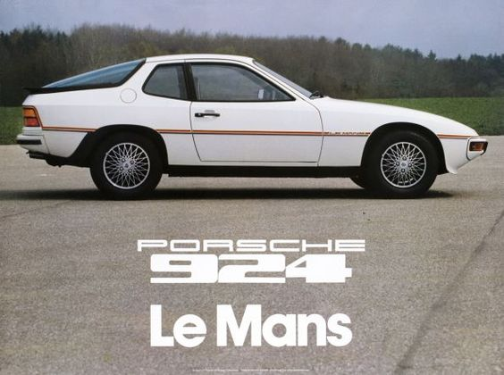 1980 Porsche 924 Le Mans Limited Edition