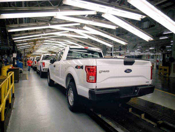 Ford F150 assembly line