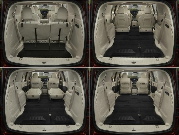 2017 Chrysler Pacifica rear seats