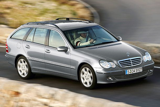 Mercedes-Benz C300 Estate W203, Image: Daimler