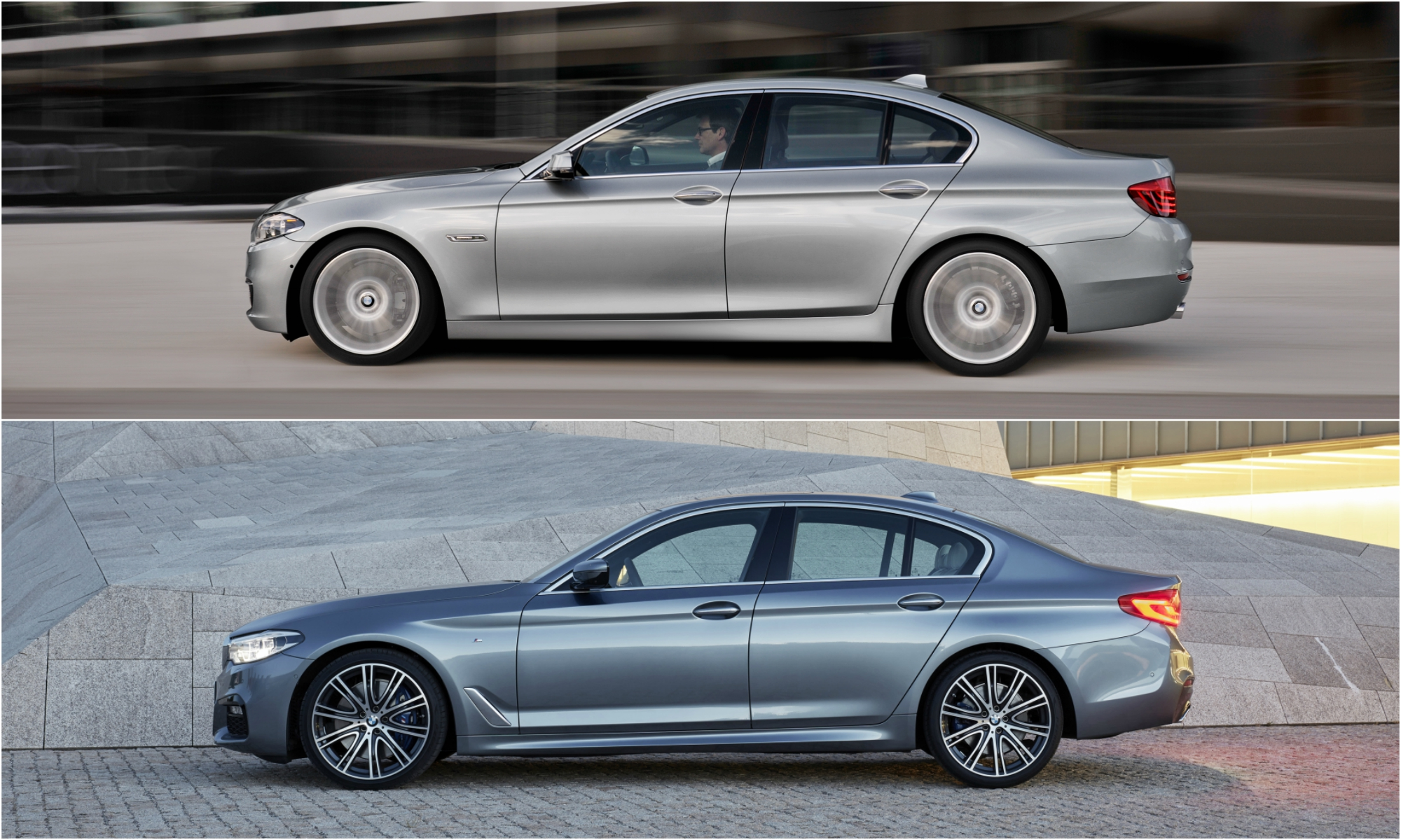 Sadly The Handsome New 2017 Bmw 5 Series Looks Exactly