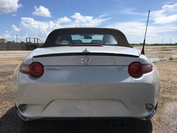 2017 Mazda MX-5 rear end, Image: © 2016 Sajeev Mehta/The Truth About Cars