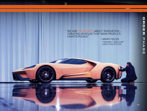 Ford GT Welcome Guide, Image: Ford Motor Company