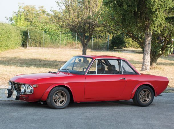 1970 Lancia Fulvia 1.6HF Fanalone, Images: RM Auctions, Inc.