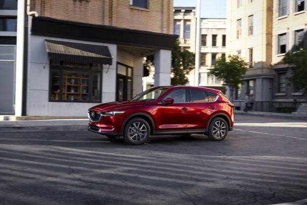 2017 Mazda CX-5 Soul Red Crystal - Image: Mazda