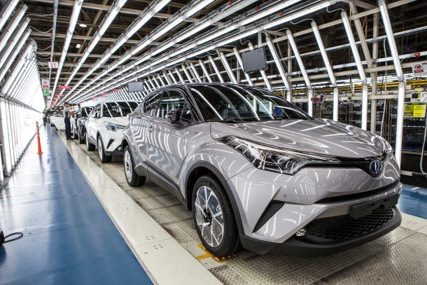 2017 Toyota C Hr Turkey Embly Plant