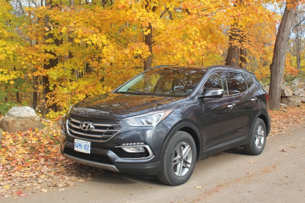 2017 hyundai santa fe sport 2 4 awd review stakeout special. Black Bedroom Furniture Sets. Home Design Ideas
