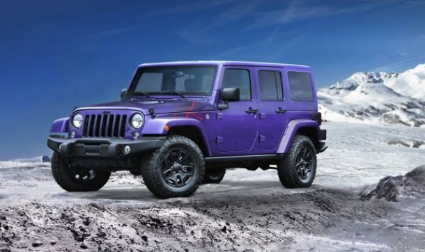 Jeep purple backcountry