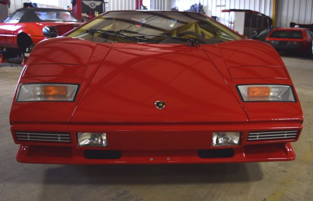 1985 Lamborghini Countach Front, Image: © 2016 Sajeev Mehta/The Truth About Cars