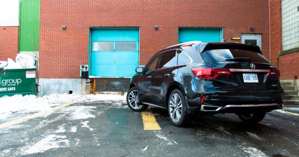 2017 Acura MDX rear Image: © Timothy Cain/The Truth About Cars