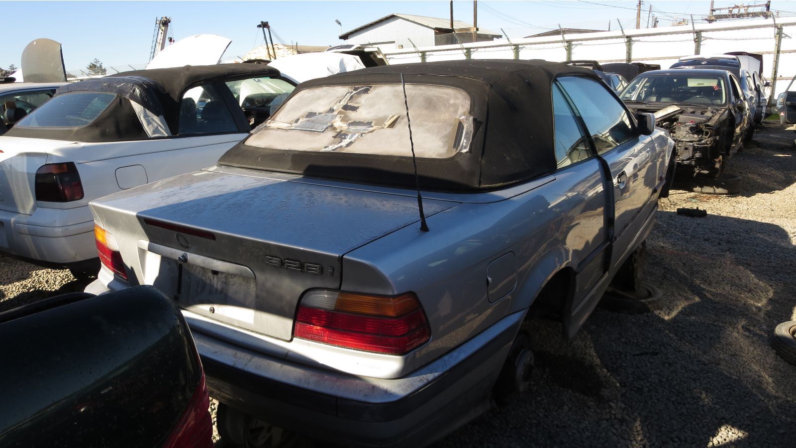junkyard find 1996 bmw e36 328i convertible rh thetruthaboutcars com 1996 bmw 328i owners manual pdf 1996 BMW 328I Convertible