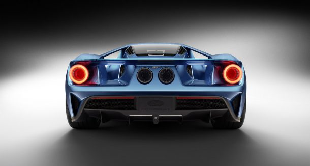 Ford GT Rear, Image: Ford