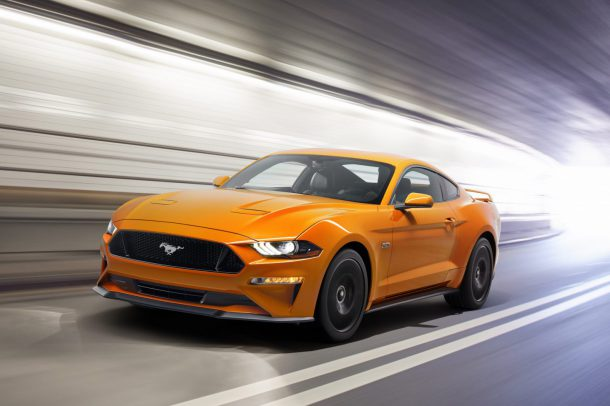 2018 Ford Mustang, Image: Ford