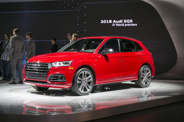 2018 Audi SQ5 Front 3/4, Image: © 2017 Jeff Wilson/The Truth About Cars