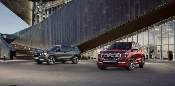 2018 All-New GMC Terrain SLT (Left) and Denali (Right), Image: GMC