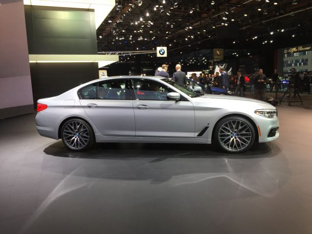 BMW 5 Series NAIAS, Image: © 2016 Sajeev Mehta/The Truth About Cars