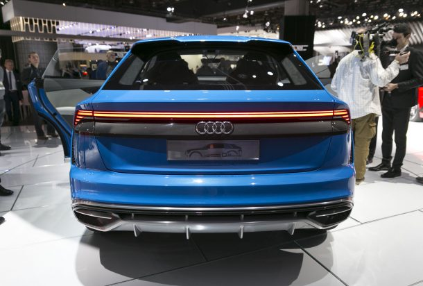 Audi Q8 Concept NAIAS Rear, Image: © 2017 Jeff Wilson/The Truth About Cars