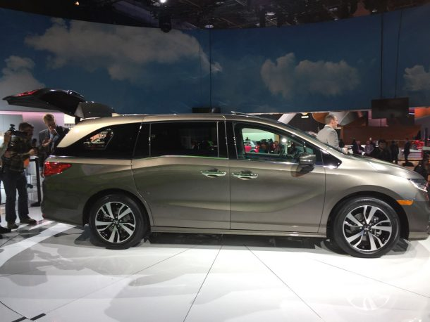 Honda Odyssey Side Profile, Image: © 2016 Sajeev Mehta/The Truth About Cars