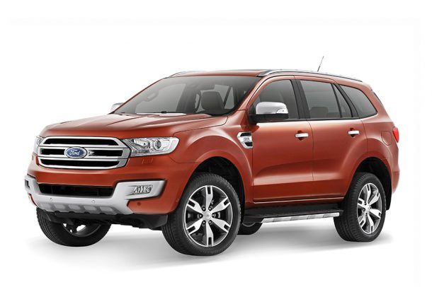 Ford Everest Front 3/4, Image: Ford