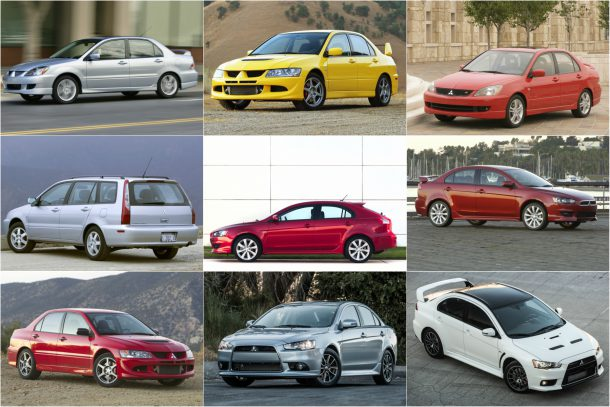 Mitsubishi Motors Lancer collage - Images: Mitsubishi
