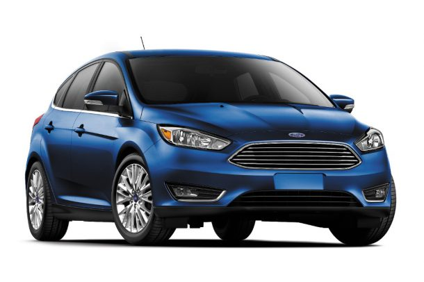 2017 Ford Focus Titanium Hatchback, Image: Ford