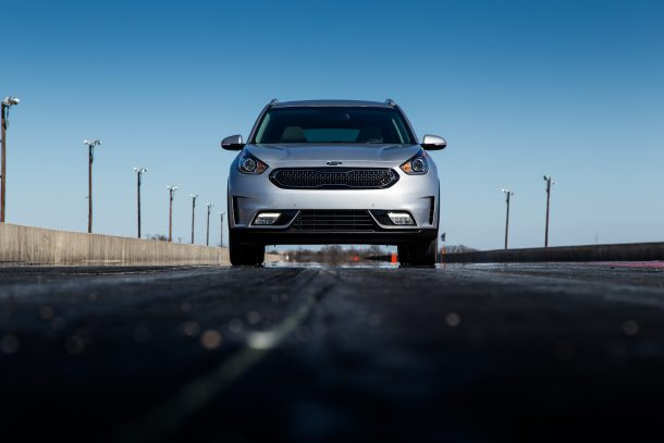 2017 Kia Niro Hybrid San Antonio Raceway, Image: © 2017 Mark Stevenson/The Truth About Cars