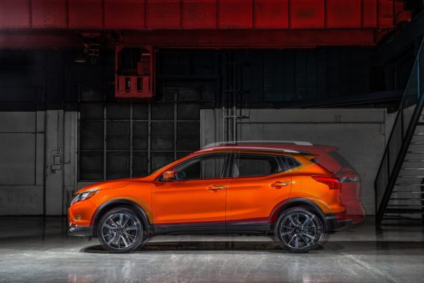 2017 Nissan Rogue Sport - Image: Nissan