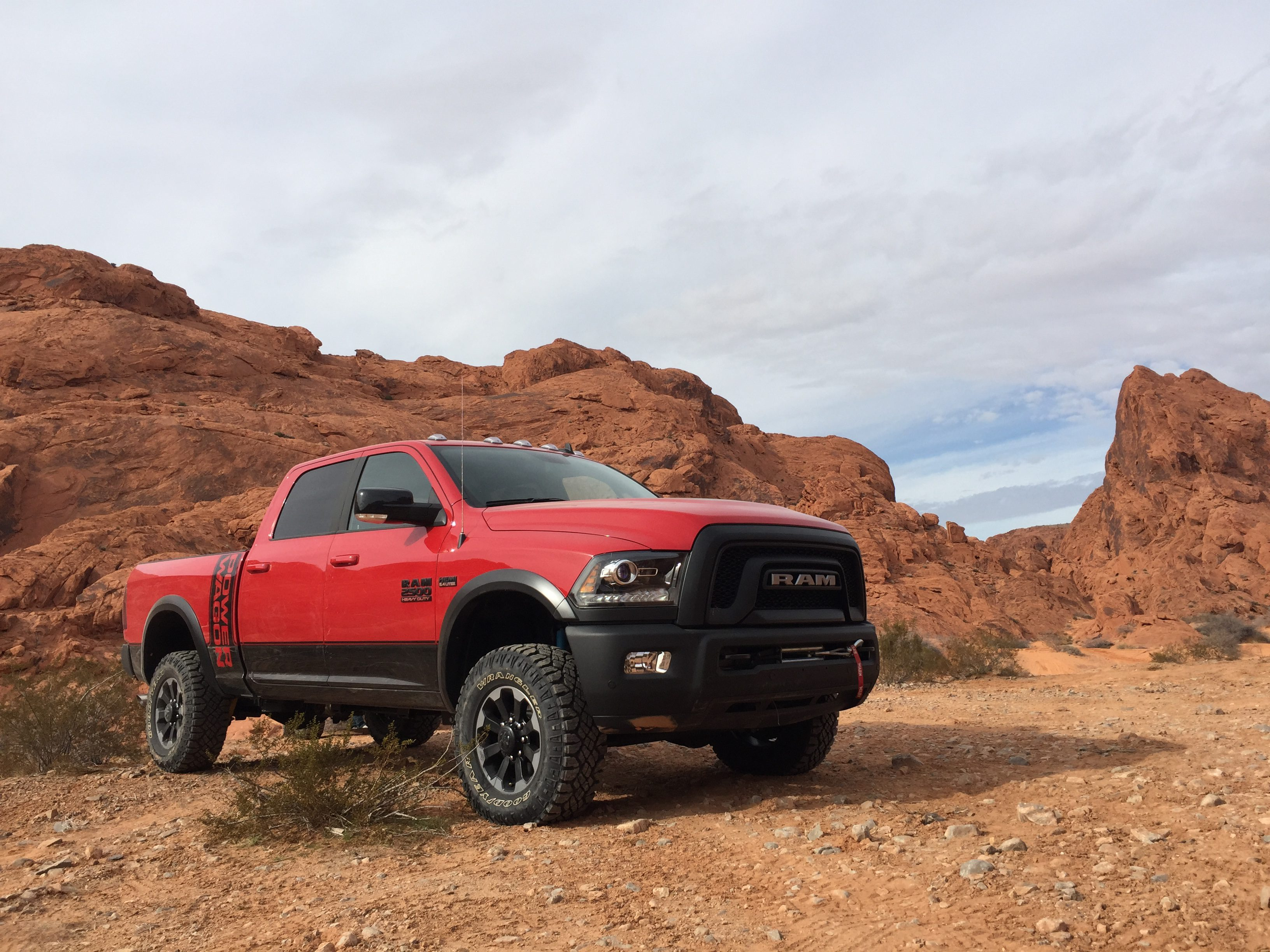 2017 ram 2500 power wagon first drive review macho man. Black Bedroom Furniture Sets. Home Design Ideas