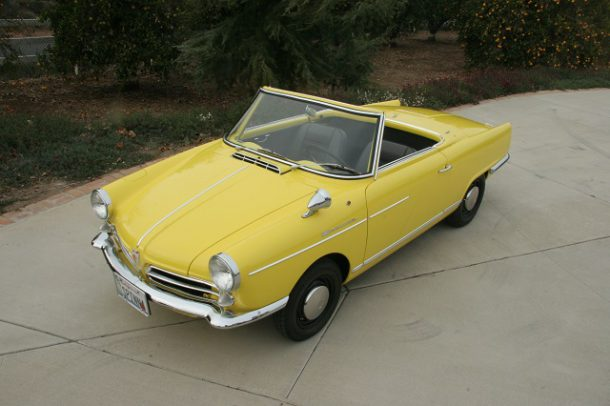 1965 NSU Spider, Image: German Cars For Sale Blog