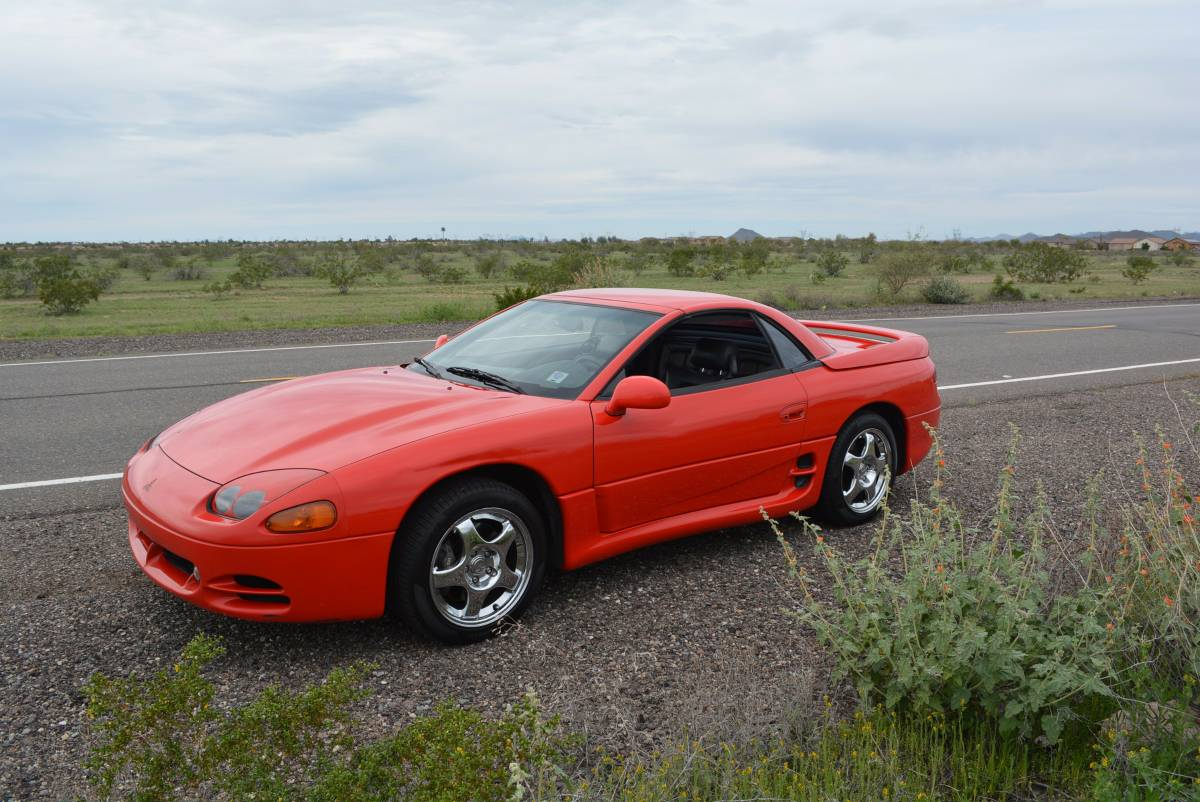 Rare Rides This 1995 Mitsubishi 3000gt Vr 4 Can Go Topless