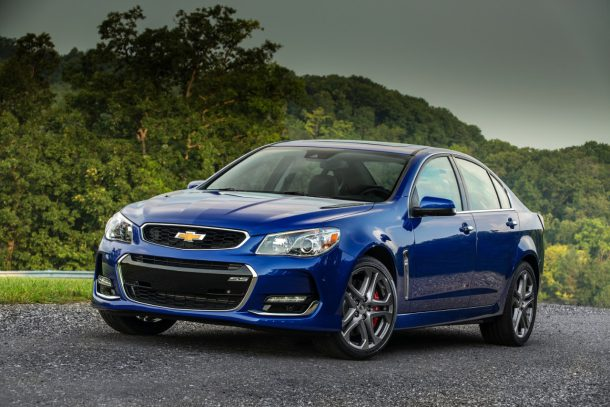 2016 Chevrolet SS - Image: GM