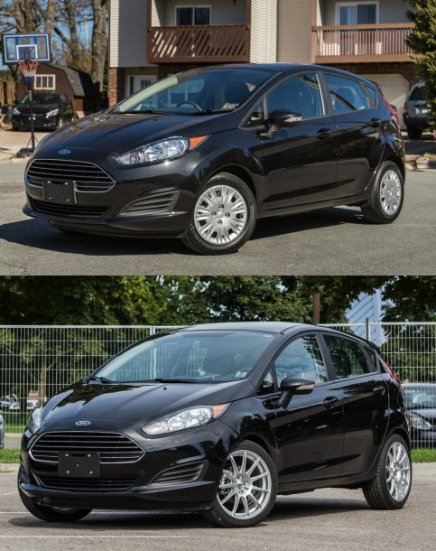 2015 Ford Fiesta, Old vs New Wheels