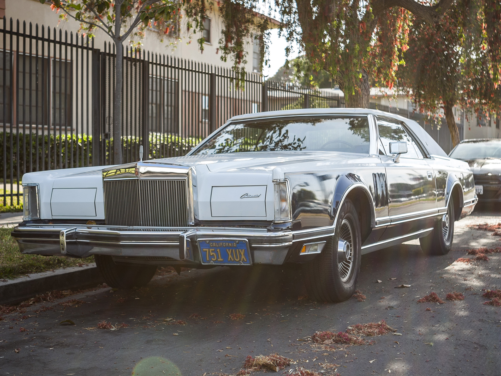 Parked In Drive 1979 Lincoln Continental Mark V Bill Blass Edition