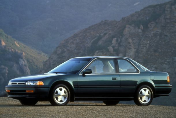 1992 Honda Accord EX Coupe. - Image: Honda