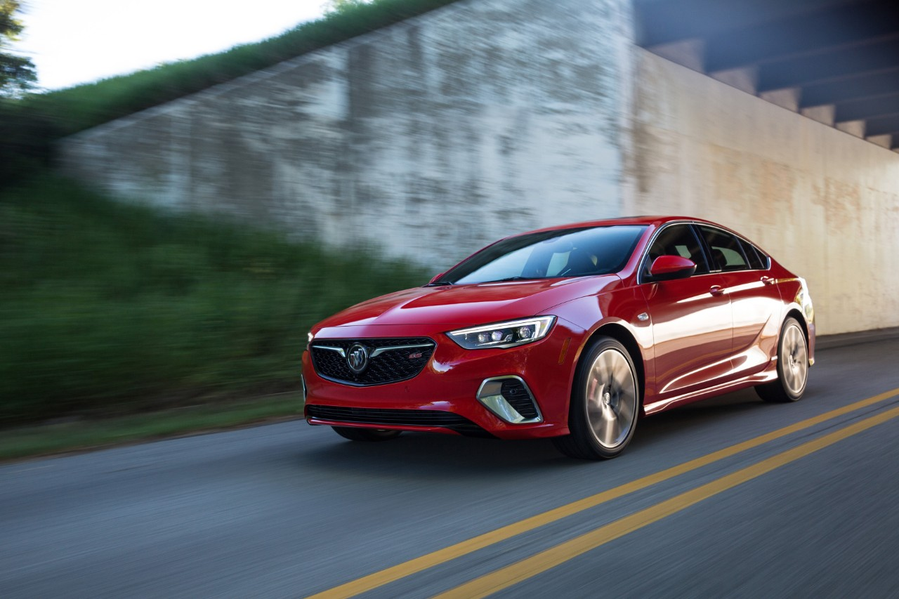 2018 Buick Regal GS is a $39,990 310-bhp V6-Engined Sportback